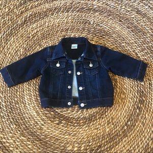 Gymboree Denim Snap Up Jacket Size 3-6 Months